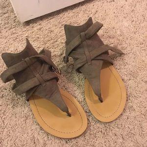 Green Jessica Simpson Sandals